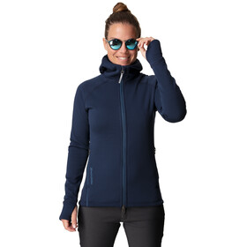 Houdini Power Houdi Jacket Dame blue illusion/tide